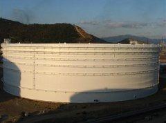 北京某石油化工厂定制防腐储罐工程案例