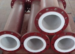 化工行业专用钢衬塑管道