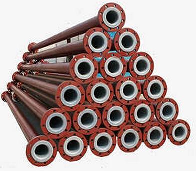 钢衬塑防腐复合管道及管