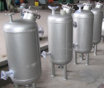 果汁饮料厂用钢衬塑缓冲罐