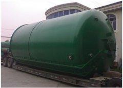 钢衬塑运输罐承装化学腐蚀液体