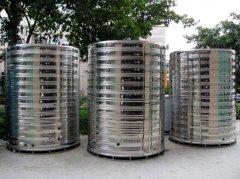 3T不锈钢圆柱形水箱